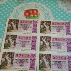 Lotería Nacional: LOTERÍA NACIONAL 22 DICIEMBRE 1978. Lote 73527741