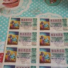 Lotería Nacional: LOTERÍA NACIONAL 22 DICIEMBRE 1979. Lote 73529785