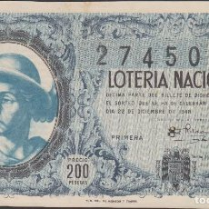 Lotería Nacional: LOTERIA NACIONAL - SORTEO - 36-1948. Lote 74912515
