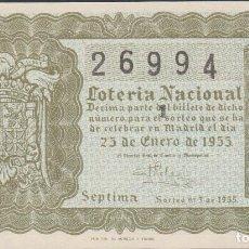 Lotería Nacional: LOTERIA NACIONAL - SORTEO - 3-1955. Lote 75185683