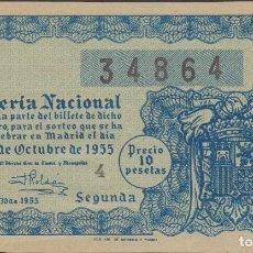 Lotería Nacional: LOTERIA NACIONAL - SORTEO - 30-1955. Lote 75187871