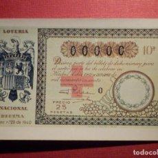 Loterie Nationale: LOTERIA NACIONAL - POSTAL SERIE M - Nº 4 - DÉCIMOS SORTEOS DE LA CRUZ ROJA - AÑO 1981. Lote 75713543