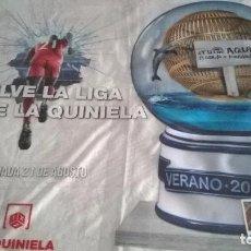 Lotería Nacional: BONITOS CARTELES VINILOS DE LOTERÍA NACIONAL Y QUINIELAS. Lote 76011751