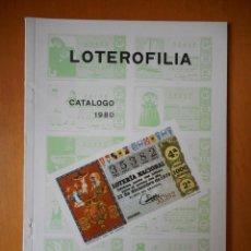 Lotería Nacional: LOTEROFILIA. CATÁLOGO 1980. A. RUIZ-NEGRE. Lote 77557397