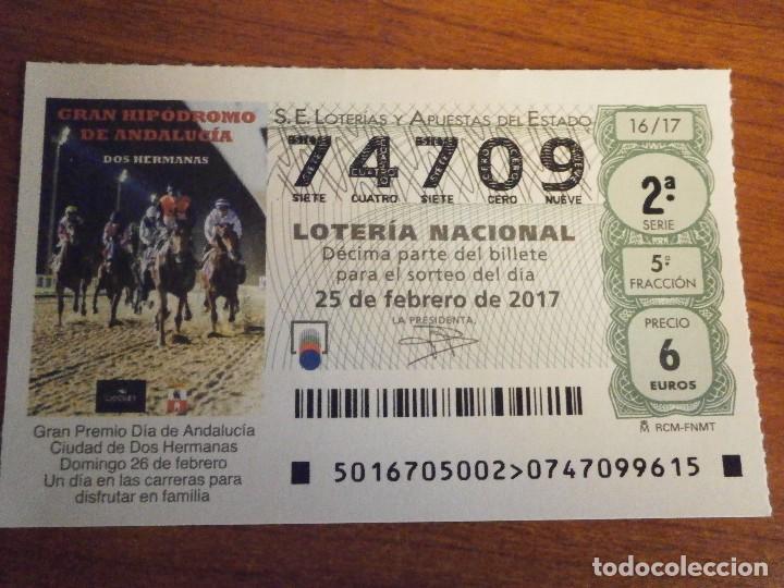 1 Decimo Loteria Nacional Sabado 25 Febrero 201 Vendido En Venta Directa 78653113