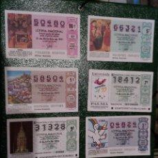 Lotería Nacional: LOTERIA NACIONAL..-LOTE DE 8 DECIMOS.. Lote 83432772