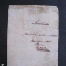 Lotería Nacional: LOTERIA SORTEO - BARCELONA - AÑO 1865 - ACTA -VER FOTOS-(V-11.779). Lote 91136485