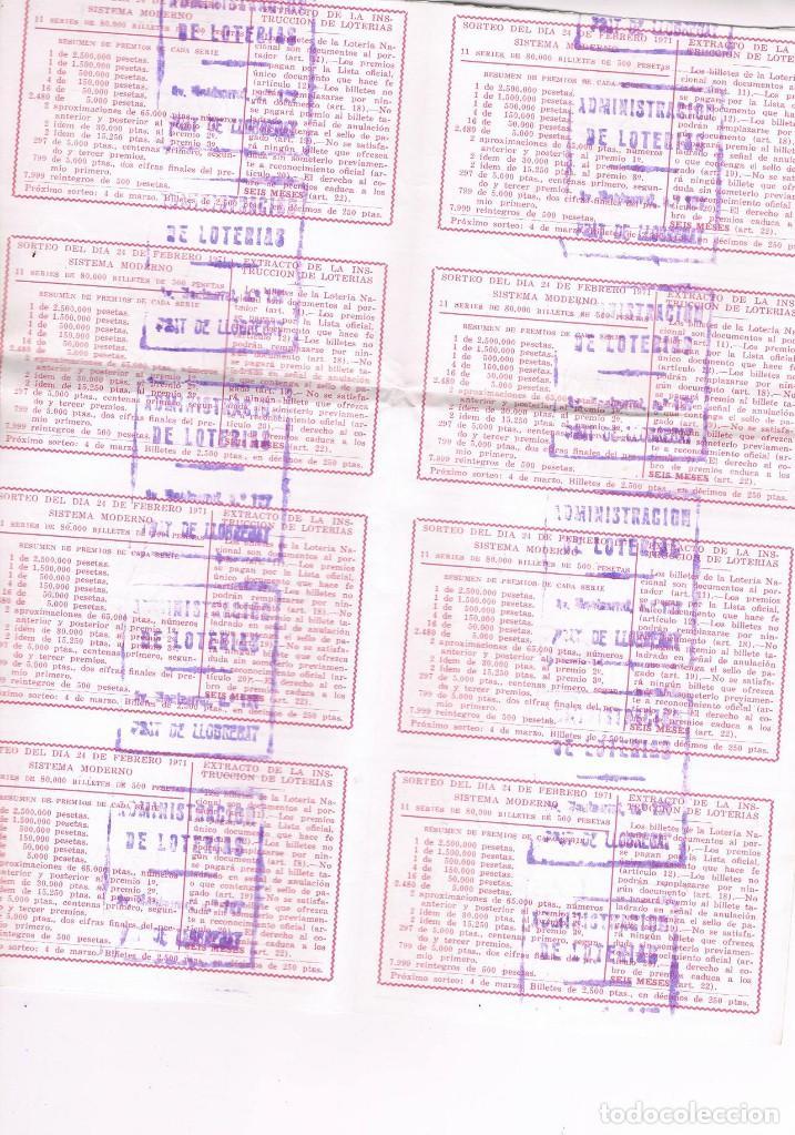 Lotería Nacional: 8 DECIMOS TEMA TAUROMAQUIA LOTERIA NACIONAL - Foto 3 - 92299655