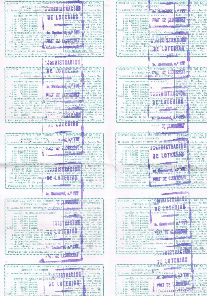 Lotería Nacional: ESPAÑA LOTERIA NACIONAL 10 DECIMOS UNA HOJA EL ARTE DE TOREAR - Foto 2 - 92842990