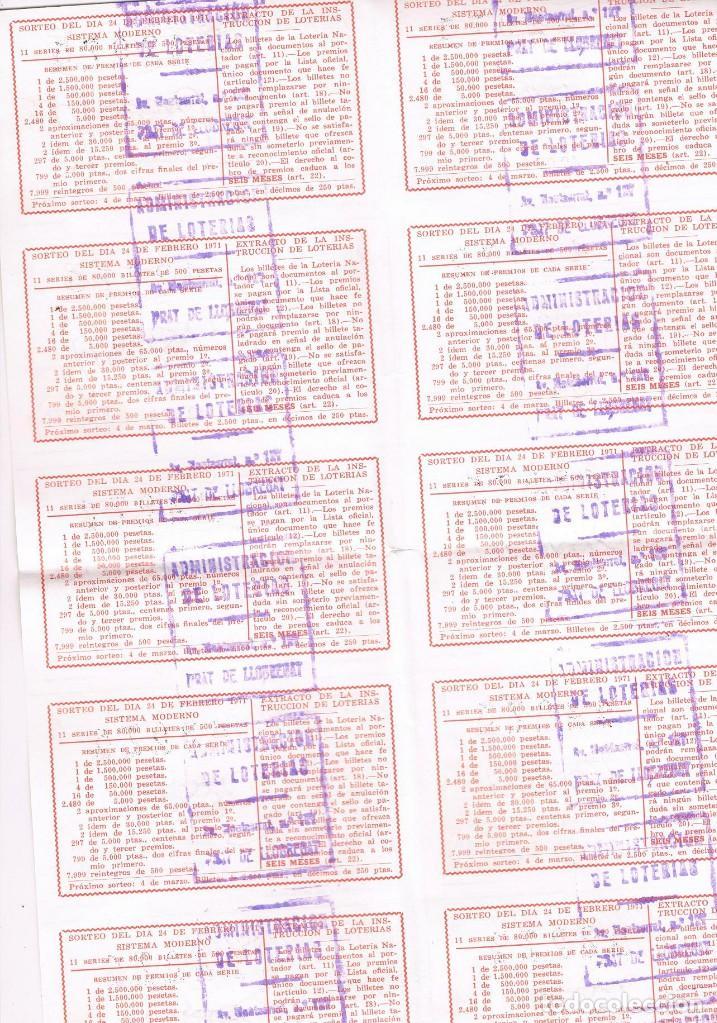 Lotería Nacional: 10 DECIMOS LOTERIA COMPLETOS TAUROMAQUIA - Foto 2 - 92851565