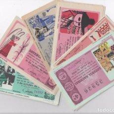 Lotería Nacional: 33 SORTEOS DE LOTERÍA NACIONAL 1966 ( FALTAN LOS SORTEOS: 12-15 Y 22 ). Lote 95945183