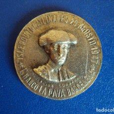 Lotería Nacional: (PUB-170900)MEDALLA RECUERDO A MANOLETE CON NUMERO DE LOTERIA DE NAVIDAD 1948 (Nº32363). Lote 97915267