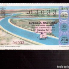 Lotería Nacional: LOTERIA ANTIGUA LA QUE VES NUMERO 224. Lote 98760275