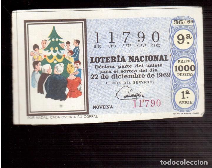 LOTERIA ANTIGUA LA QUE VES NUMERO 227 (Coleccionismo - Lotería Nacional)