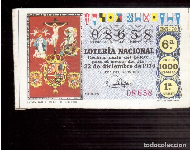LOTERIA ANTIGUA LA QUE VES (Coleccionismo - Lotería Nacional)