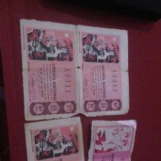 Lotería Nacional: DECIMOS LOTERIA. Lote 98801279