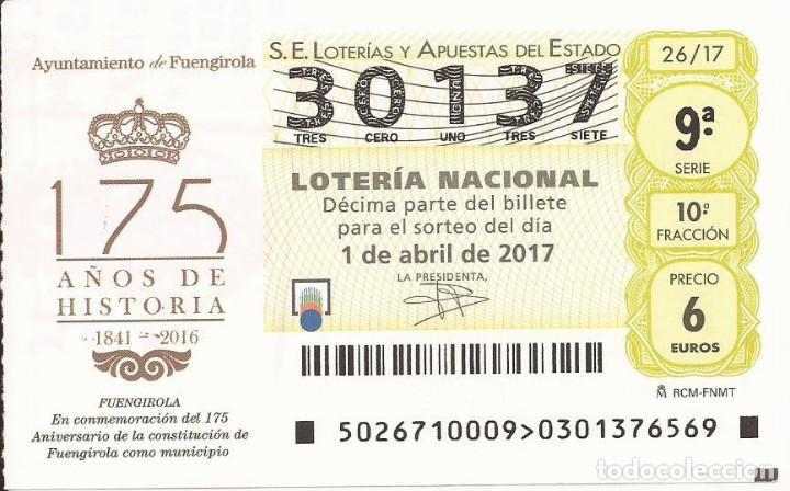 loteria nacional 1 abril 2017