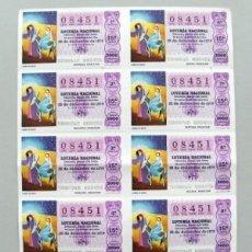 Lotería Nacional: SORTEO Nº 50, 22 DICIEMBRE 1979. Lote 107066879