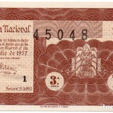 Lotería Nacional: SORTEO 21 DE 1957 LOTERÍA NACIONAL. Lote 107069151