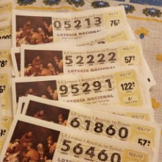 Lotería Nacional: DECIMOS Y PAPELETAS DE LOTERIA.. Lote 108370900