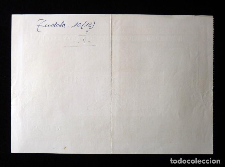 Lotería Nacional: FALLAS VALENCIA 1955. PARTICIPACIÓN 4 PTAS., LOTERIA Nº 12389 y 27111. PEÑA LEVANTINA ROYELTY. U.D.L - Foto 2 - 108698395