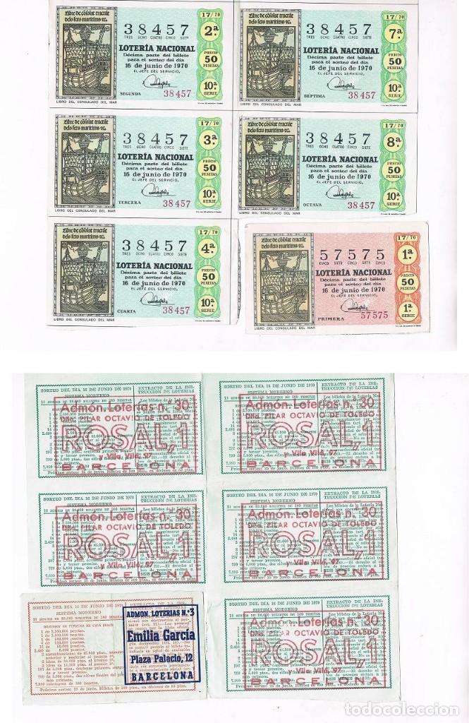 Lotería Nacional: 4 FOTOGRAFIAS DE DECIMOS DE LOTERIA - Foto 3 - 110229491