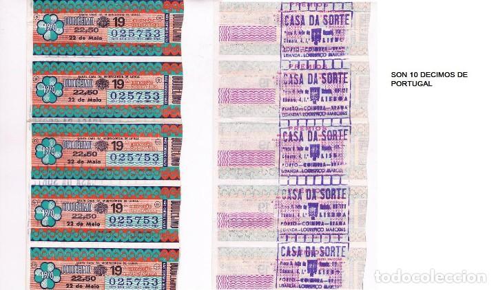 Lotería Nacional: 4 FOTOGRAFIAS DE DECIMOS DE LOTERIA - Foto 4 - 110229491