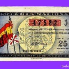 Lotería Nacional: LOTERIA, 1939, AÑO DE LA VICTORIA. Lote 111891771