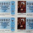 Lotería Nacional: LOTERIA NACIONAL **Nº 55667**(4 BILLETES) SORTEO 22-12-87 - SERIE 40ª / 2ª-3ª-7ª-8ª (TEMA NAVIDAD). Lote 111998523