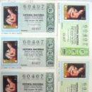 Lotería Nacional: LOTERIA NACIONAL , **Nº 60407** (8 BILLETES) SORTEO 03-05-75 - VARIAS SERIES - TEMA FILATELIA. Lote 112043963