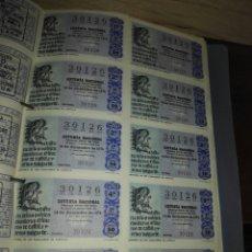 Lotería Nacional: BILLETES. LOTERIAS. Lote 113004604