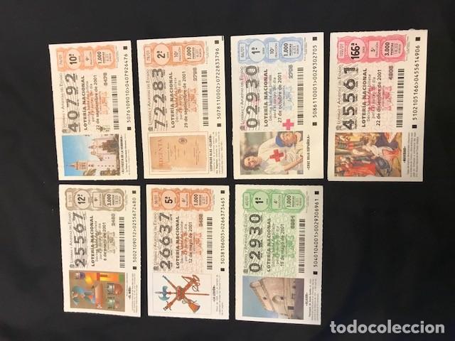 Lotería Nacional: Loteria Nacional Año 2000: 18 décimos; año 2001: 7 décimos; año 2002: 8 décimos; y 2003: 7 décimos - Foto 2 - 114185627