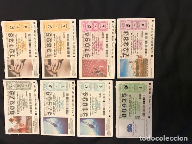 Lotería Nacional: Loteria Nacional Año 2000: 18 décimos; año 2001: 7 décimos; año 2002: 8 décimos; y 2003: 7 décimos - Foto 3 - 114185627
