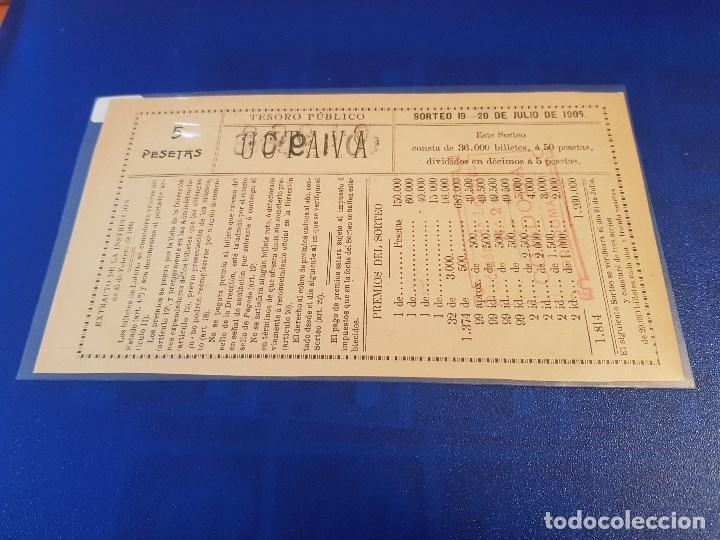 Lotería Nacional: Lotería nacional 1905 sorteo 19 - Foto 2 - 117897763
