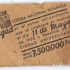 Lotería Nacional: PUBLICIDAD - LOTERIA NACIONAL ESPAÑOLA.. Lote 118587423
