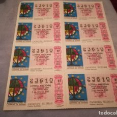 Lotería Nacional: LOTES LOTERÍA NACIONAL . Lote 118734971