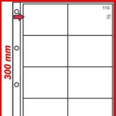 Lotería Nacional: 25 HOJAS PARA BILLETES DE LOTERIA 8 DEPARTAMENTOS; NUEVAS. Lote 119990183