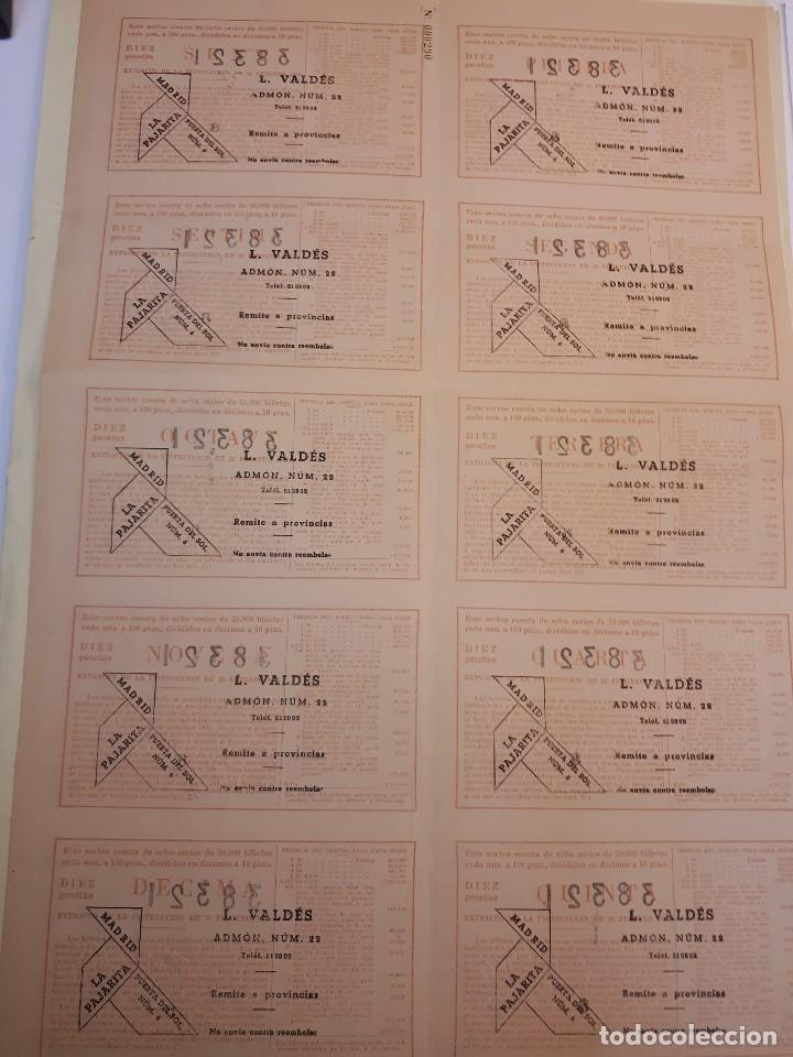 Lotería Nacional: lotería nacional 25 agosto 1956, billete completo. - Foto 2 - 123376579
