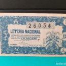 Lotería Nacional: LOTERÍA NACIONAL DEL AÑO 1954 SORTEO 14. Lote 126615327