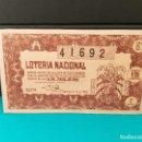 Lotería Nacional: LOTERÍA NACIONAL DEL AÑO 1954 SORTEO 14. Lote 126615755