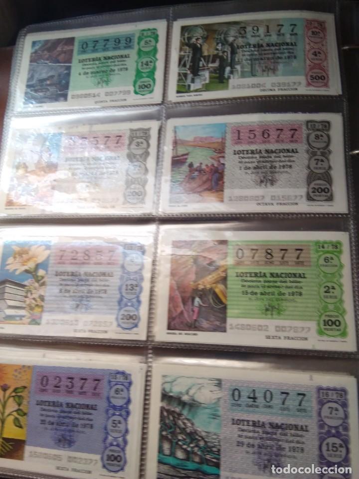 Lotería Nacional: LOTERIA NACIONAL AÑO 1978 COMPLETO, 50 DECIMOS - Foto 2 - 132740754