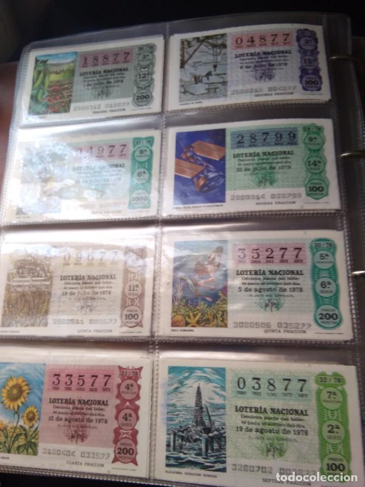 Lotería Nacional: LOTERIA NACIONAL AÑO 1978 COMPLETO, 50 DECIMOS - Foto 4 - 132740754