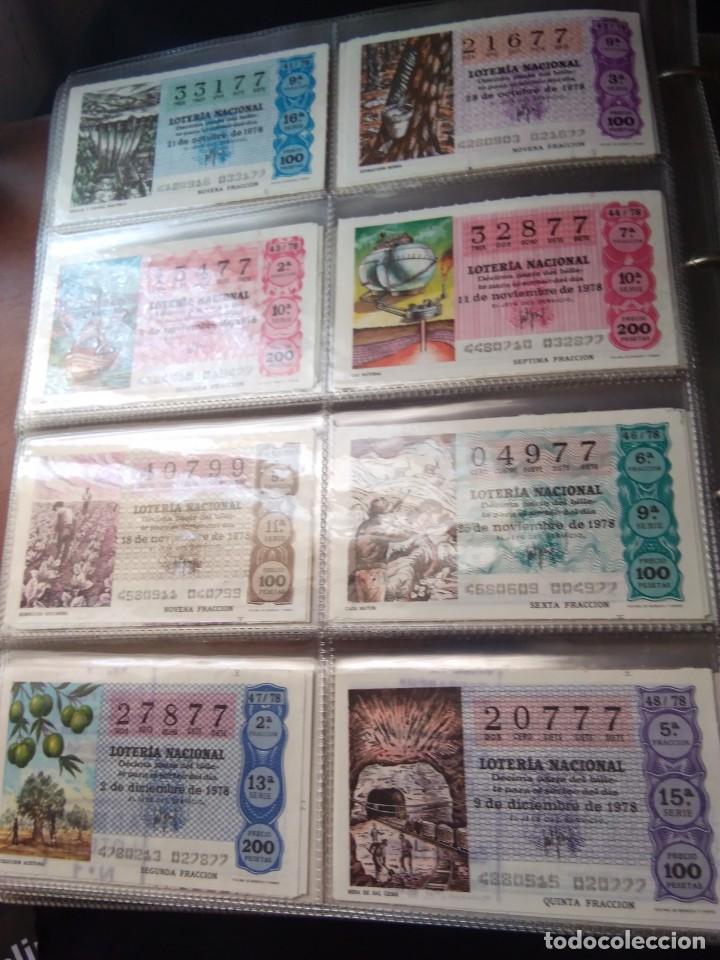Lotería Nacional: LOTERIA NACIONAL AÑO 1978 COMPLETO, 50 DECIMOS - Foto 6 - 132740754
