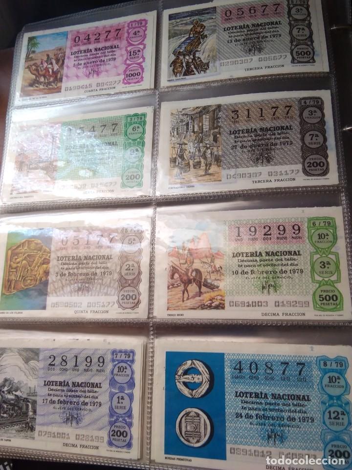LOTERIA NACIONAL AÑO 1979 COMPLETO, 50 DECIMOS (Coleccionismo - Lotería Nacional)