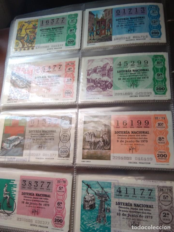 Lotería Nacional: LOTERIA NACIONAL AÑO 1979 COMPLETO, 50 DECIMOS - Foto 3 - 132740834