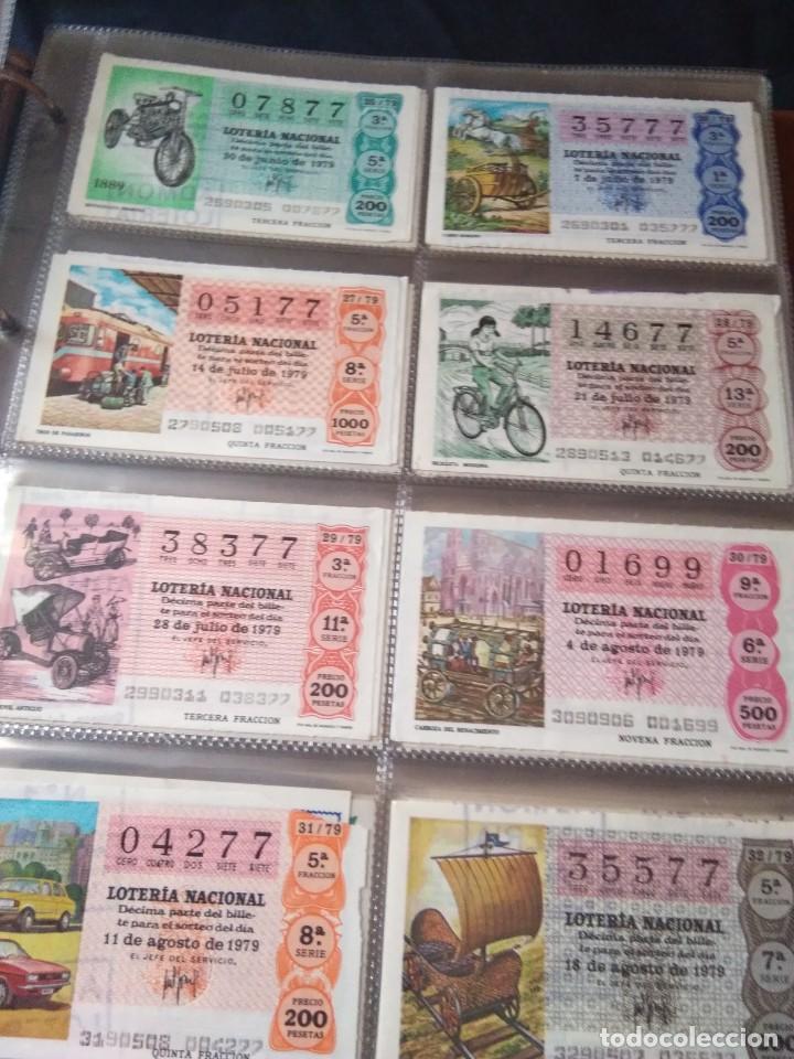 Lotería Nacional: LOTERIA NACIONAL AÑO 1979 COMPLETO, 50 DECIMOS - Foto 4 - 132740834