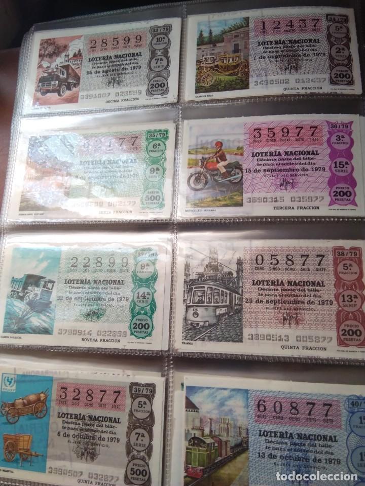 Lotería Nacional: LOTERIA NACIONAL AÑO 1979 COMPLETO, 50 DECIMOS - Foto 5 - 132740834