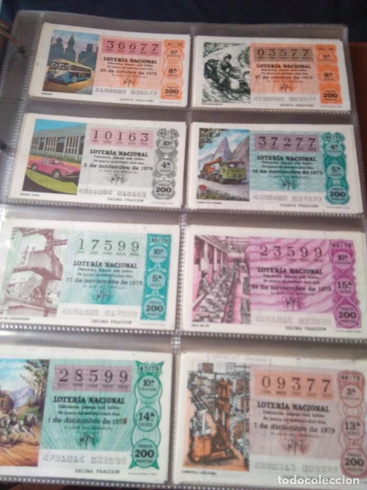 Lotería Nacional: LOTERIA NACIONAL AÑO 1979 COMPLETO, 50 DECIMOS - Foto 6 - 132740834