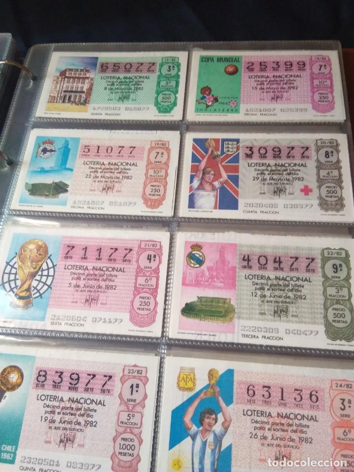 Lotería Nacional: LOTERIA NACIONAL AÑO 1982 COMPLETO, 40 DECIMOS - Foto 3 - 132741110