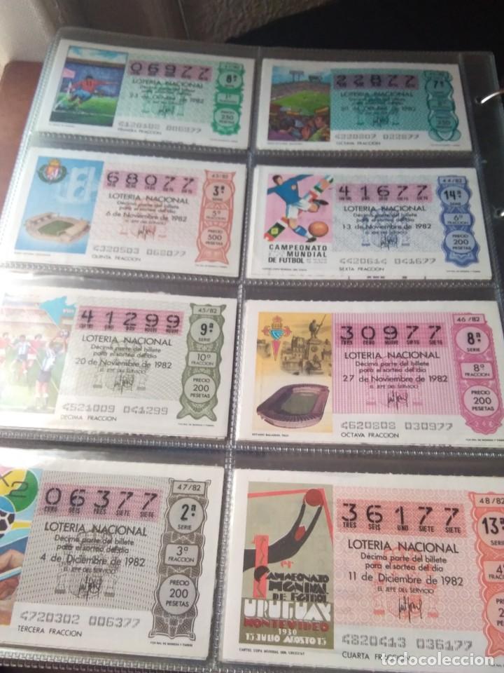 Lotería Nacional: LOTERIA NACIONAL AÑO 1982 COMPLETO, 40 DECIMOS - Foto 6 - 132741110